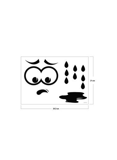 Disney Koko Klozet Sticker 14X15 Cm Renkli